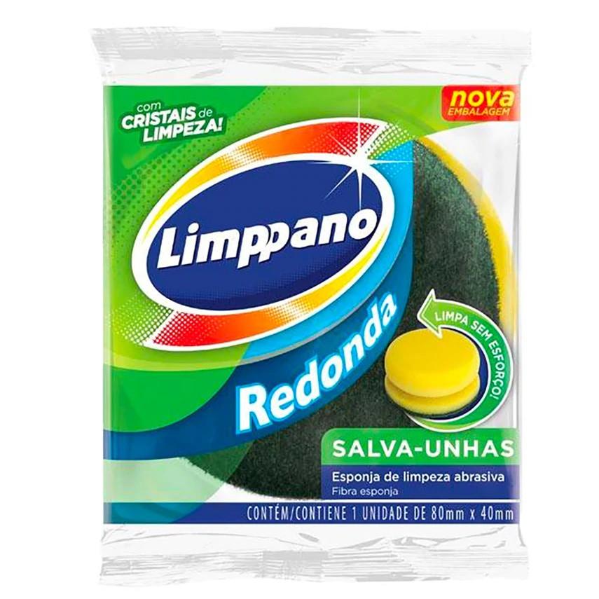 Esponja de limpeza salva unhas redonda