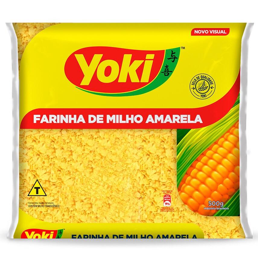 Farinha milho amarela