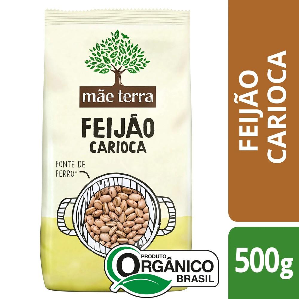 Feijão carioca orgânico