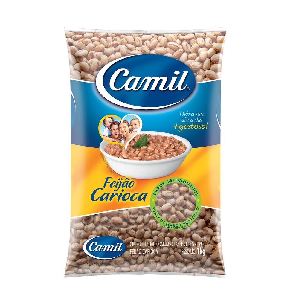 Feijão carioca 1kg