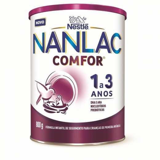 Fórmula infantil Nanlac Comfor 1 a 3 anos