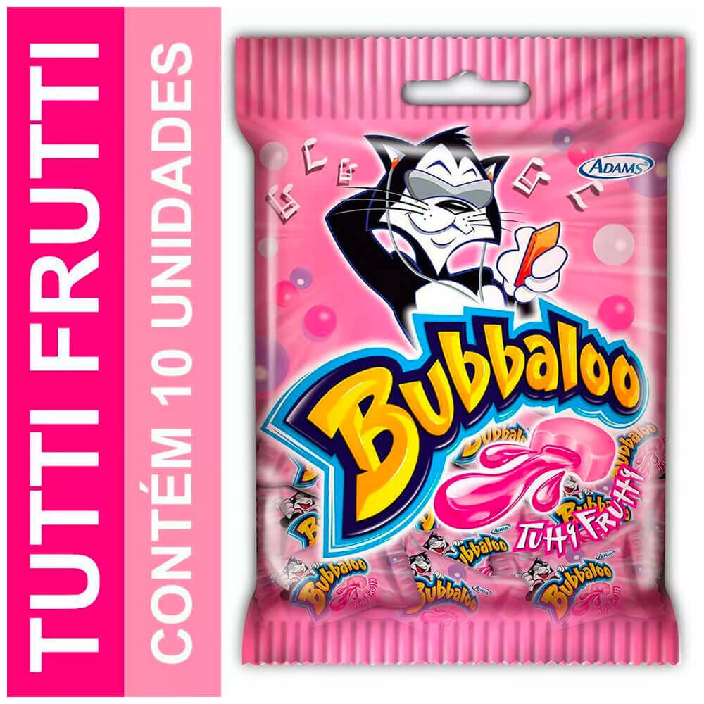 Goma de mascar sabor tutti frutti