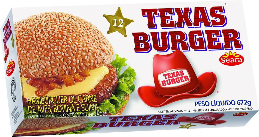 Hambúrguer misto Texas burguer 672g