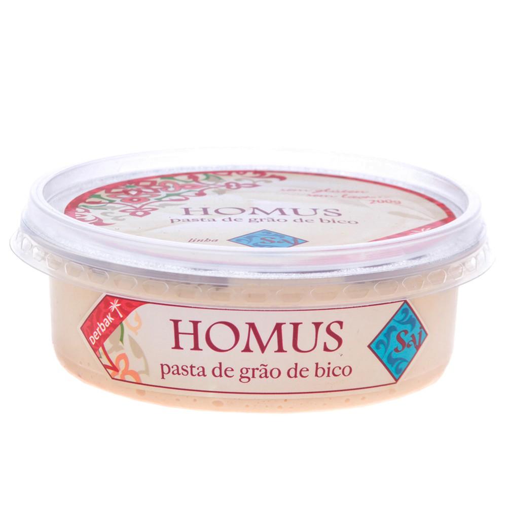 Homus de Grão de Bico Tradicional