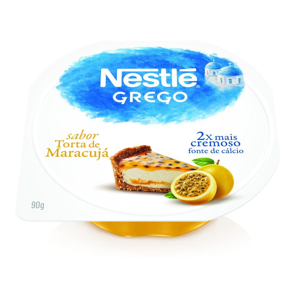 Iogurte grego torta de maracujá