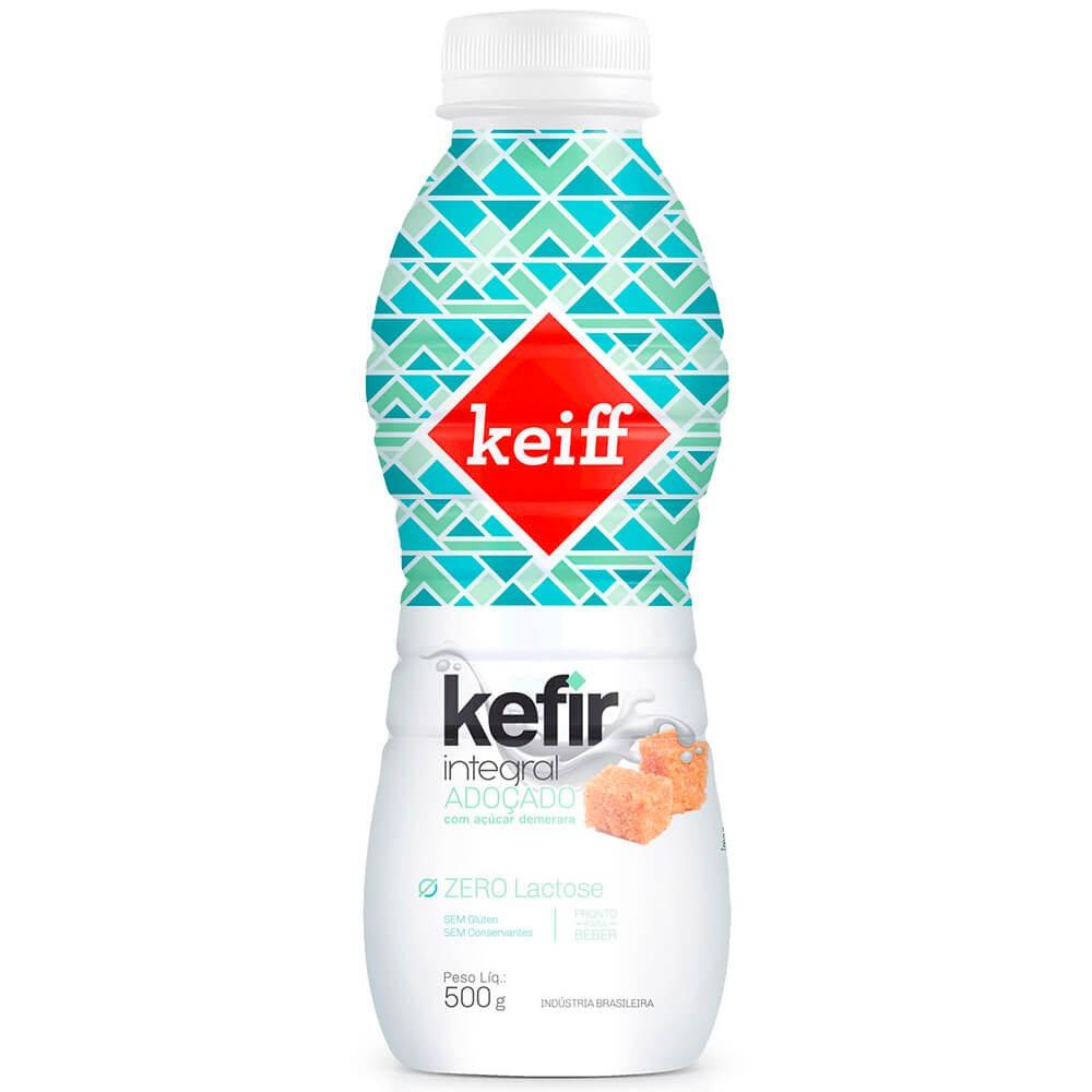 Iogurte Kefir Integral Adoçado com Açúcar Demerara