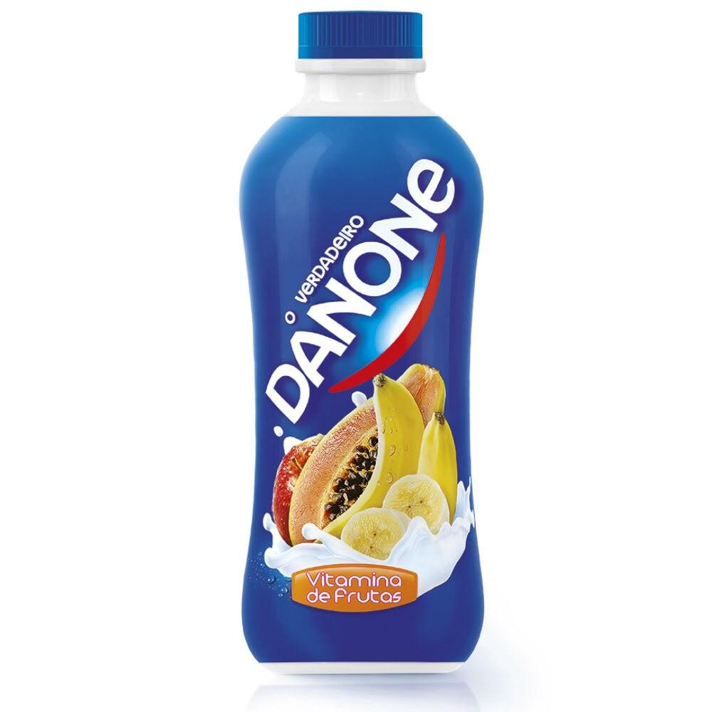 Iogurte integral vitamina de frutas