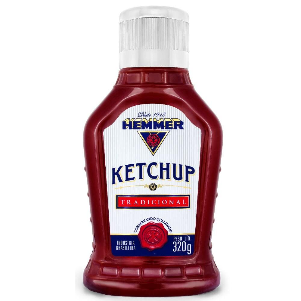 Ketchup tradicional 320g