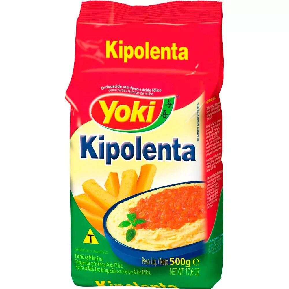 Farinha de milho kipolenta