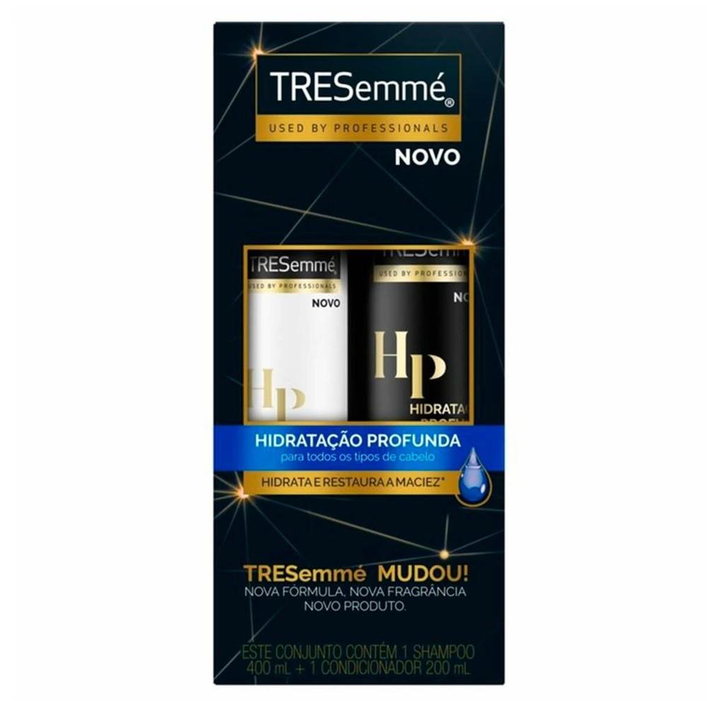 Kit Shampoo + condicionador hidratação profunda