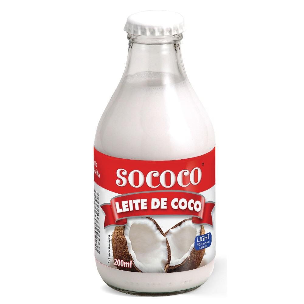 Leite coco light