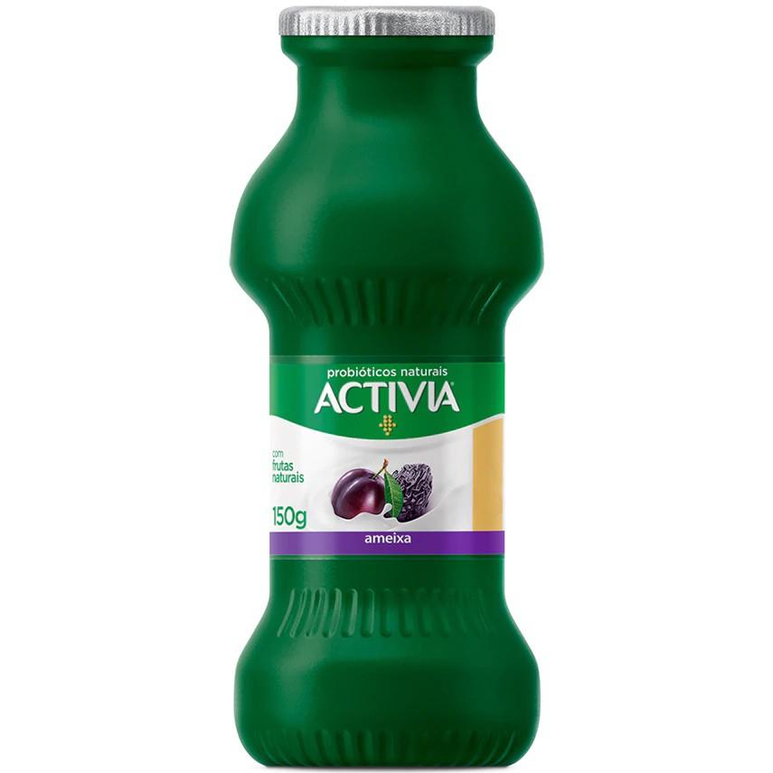 Leite fermentado sabor ameixa Activia
