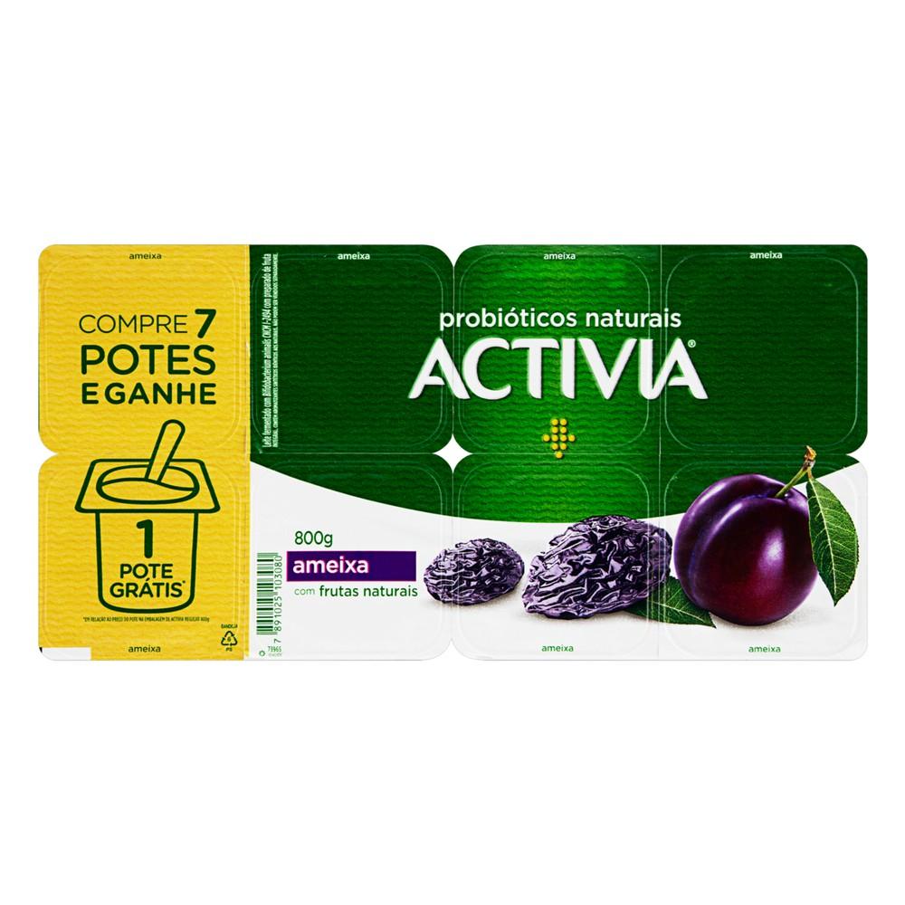 Iogurte probiótico ameixa