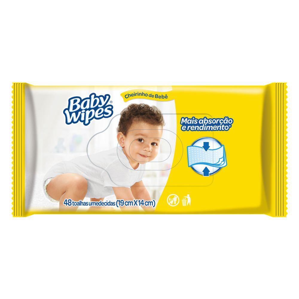 Lenços umedecidos Baby Wipes triple clean