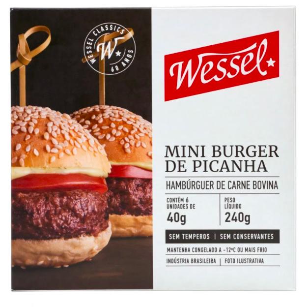Mini hambúrguer de picanha