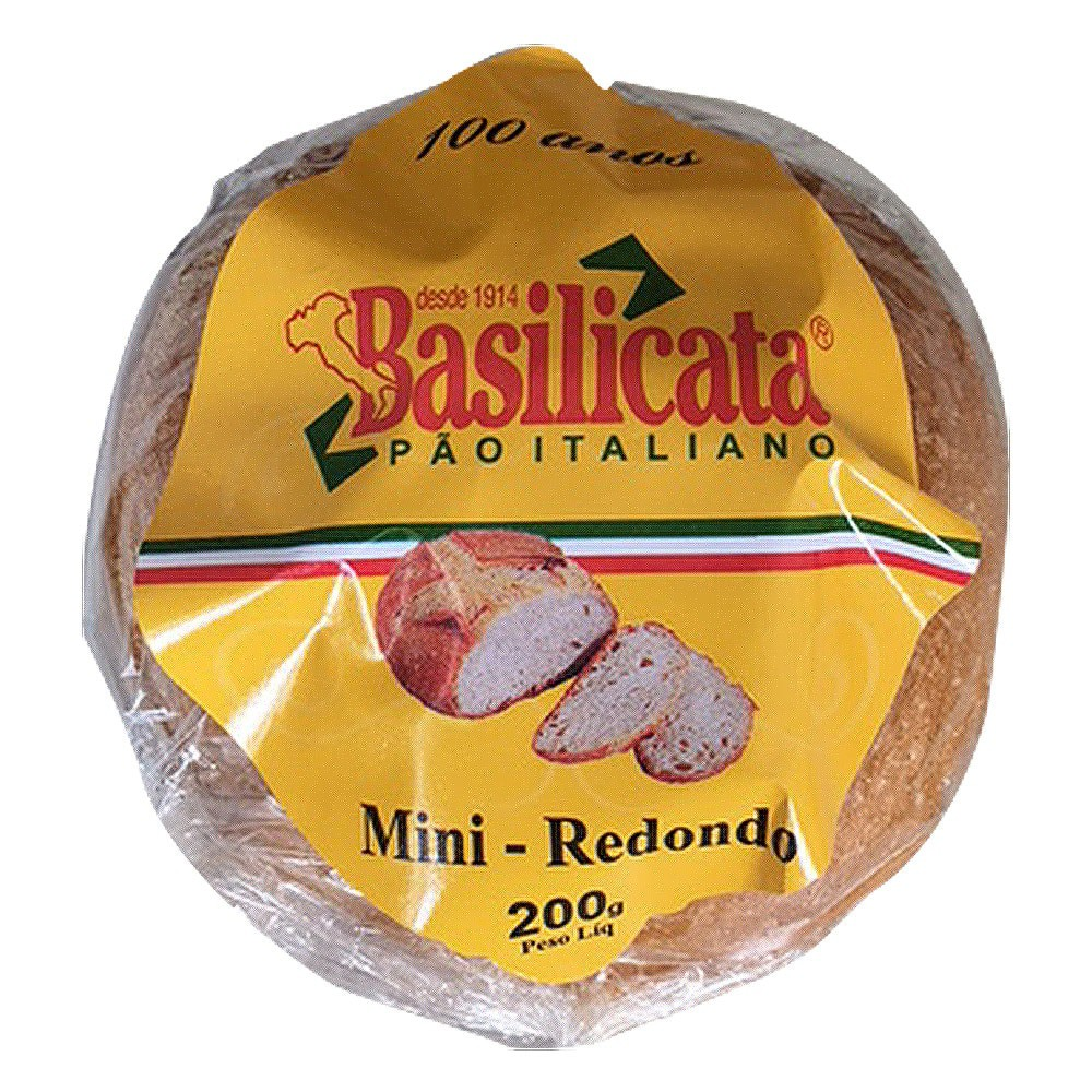 Mini Pão Italiano Redondo