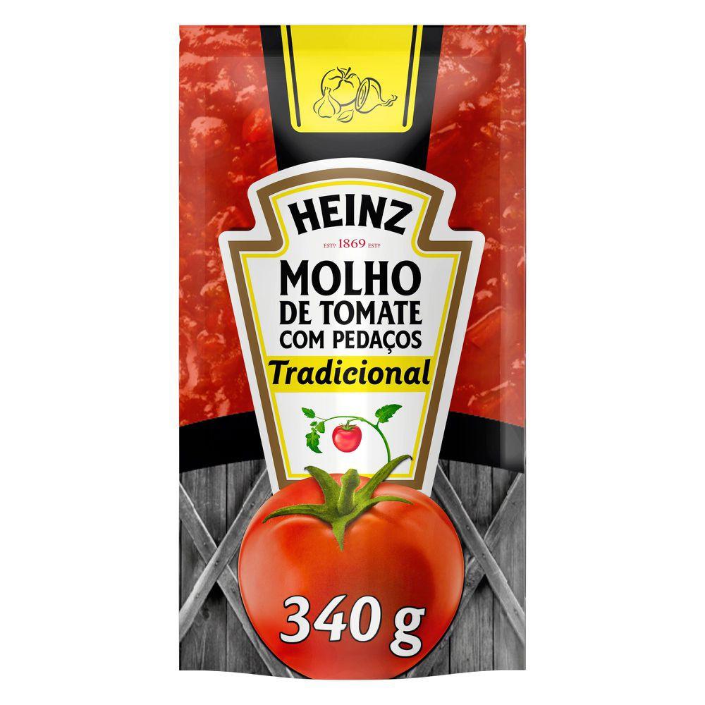 Molho de tomate com pedaços tradicional 340g