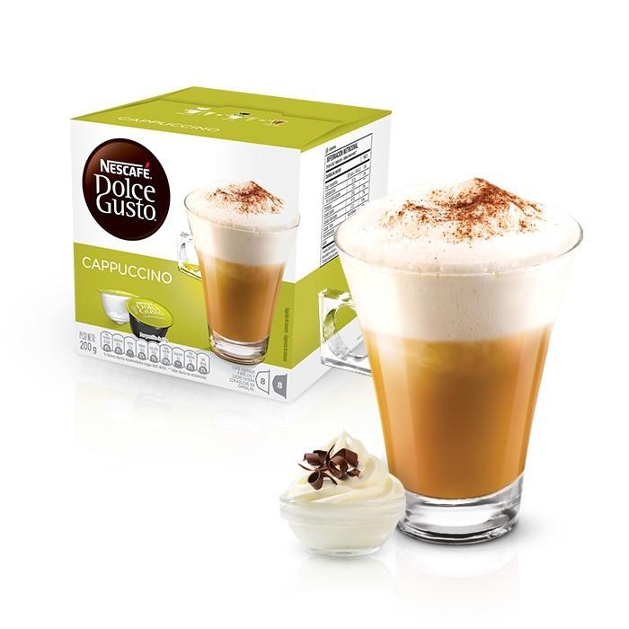 Cápsulas Dolce Gusto Café Cappuccino