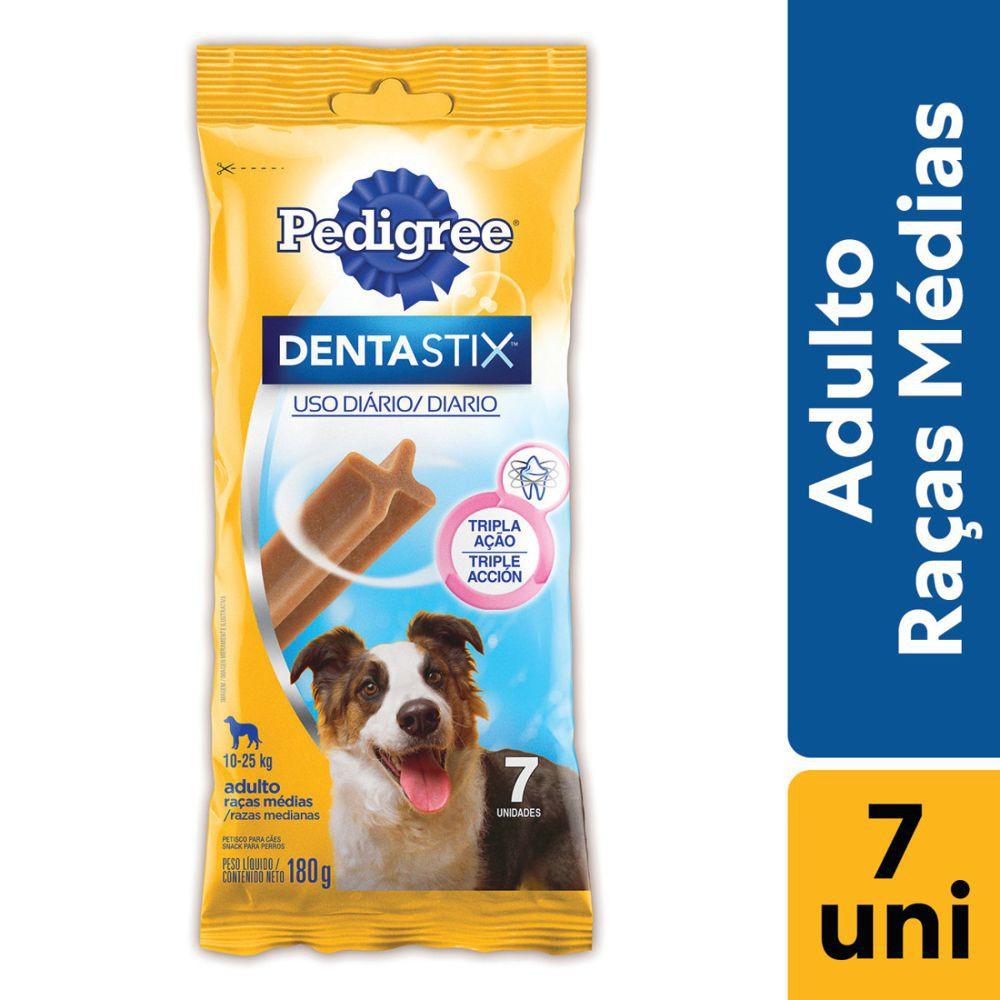 Petisco cuidado oral adultos médios 180g
