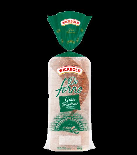 Pão de forma do forno grãos ancestrais