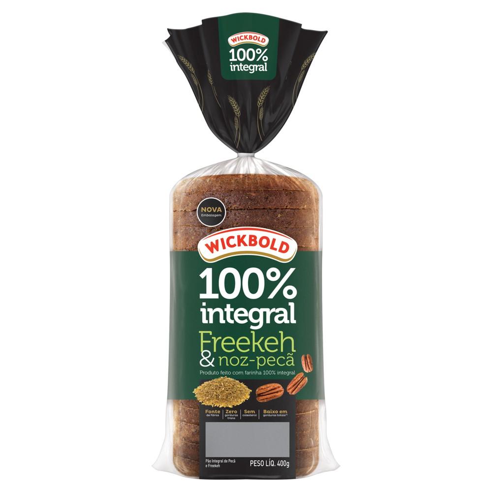 Pão de forma integral Grão Sabor freekeh e noz pecã