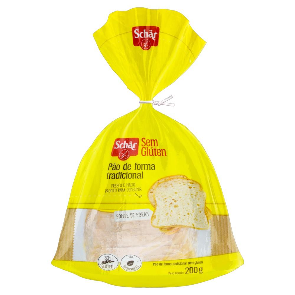 Pão de forma sem glúten
