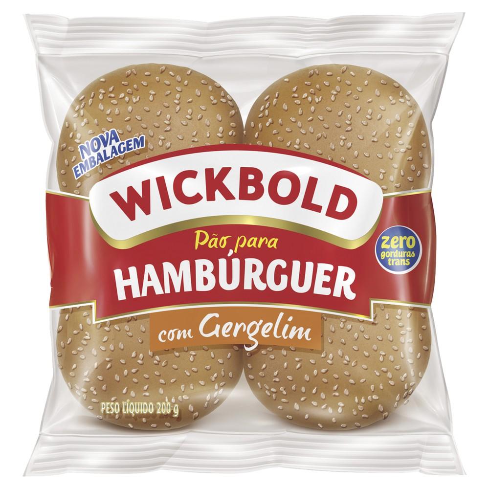 Pão de Hambúrger com Gergelim