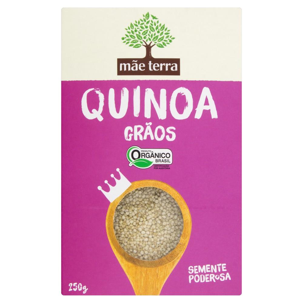 Quinoa em grãos orgânica