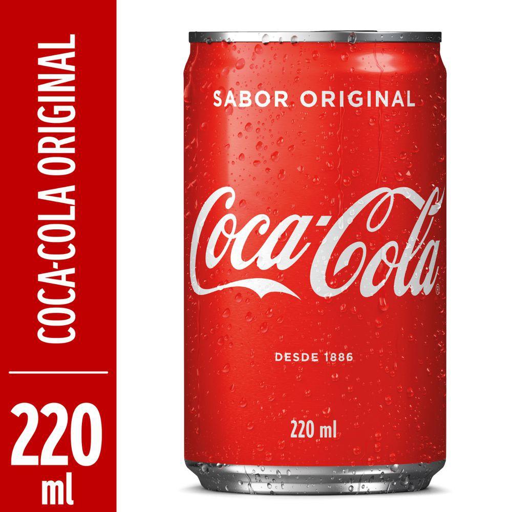Refrigerante de cola 220ml
