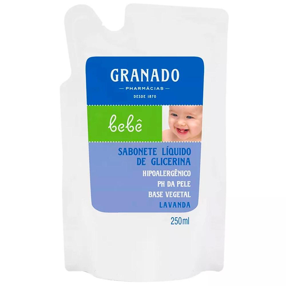 Sabonete líquido lavanda bebê refil