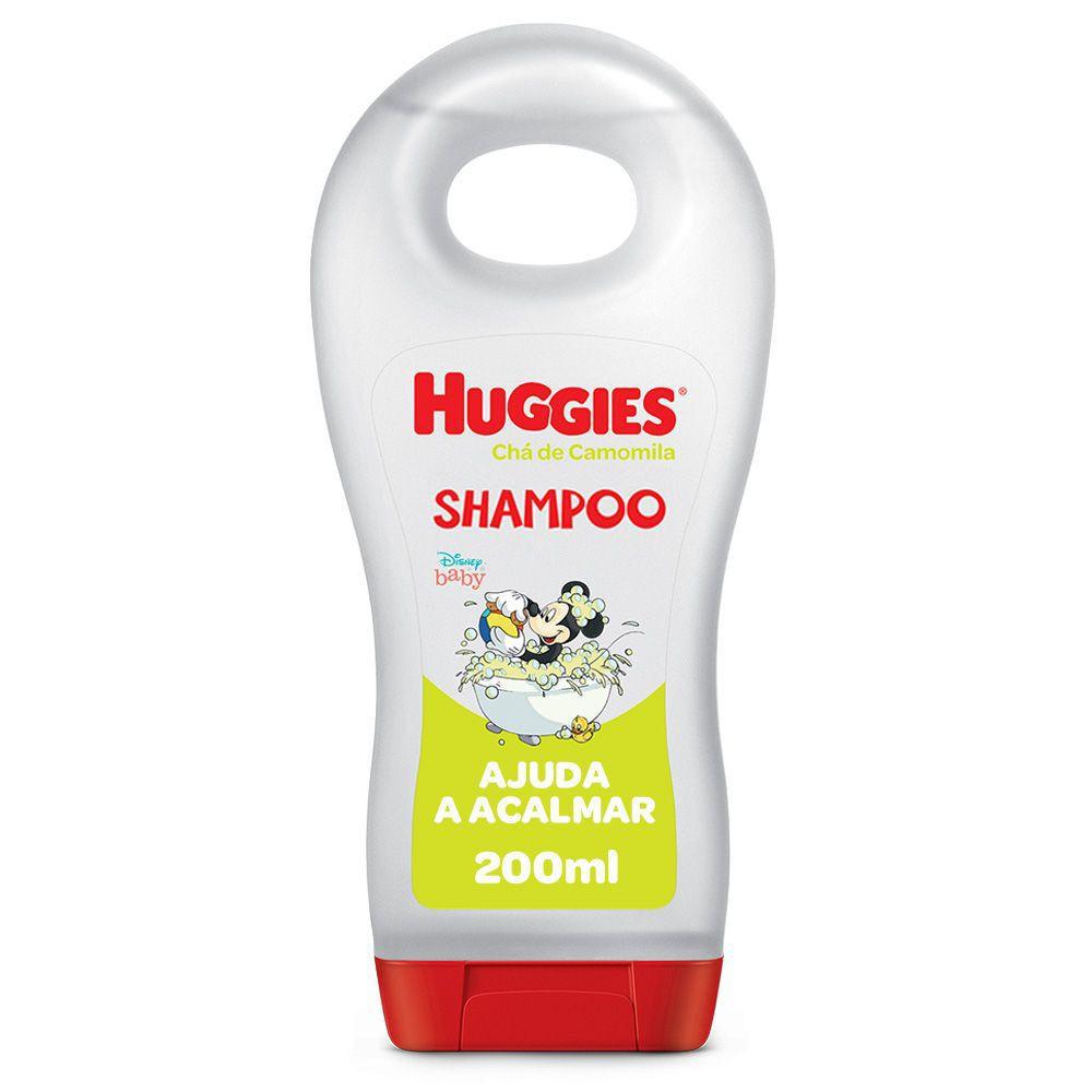 Shampoo chá de camomila