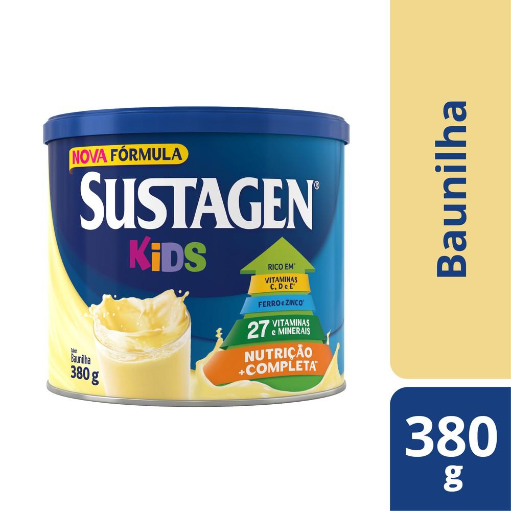 Complemento alimentar infantil baunilha