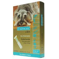 Antipulgas advocate cães para cachorro de 4 a 10 kg