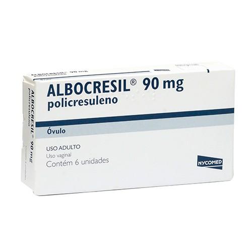 Albocresil 90mg óvulos
