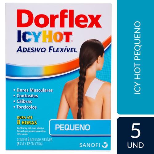 Dorflex Icy Hot 5 adesivos pequenos