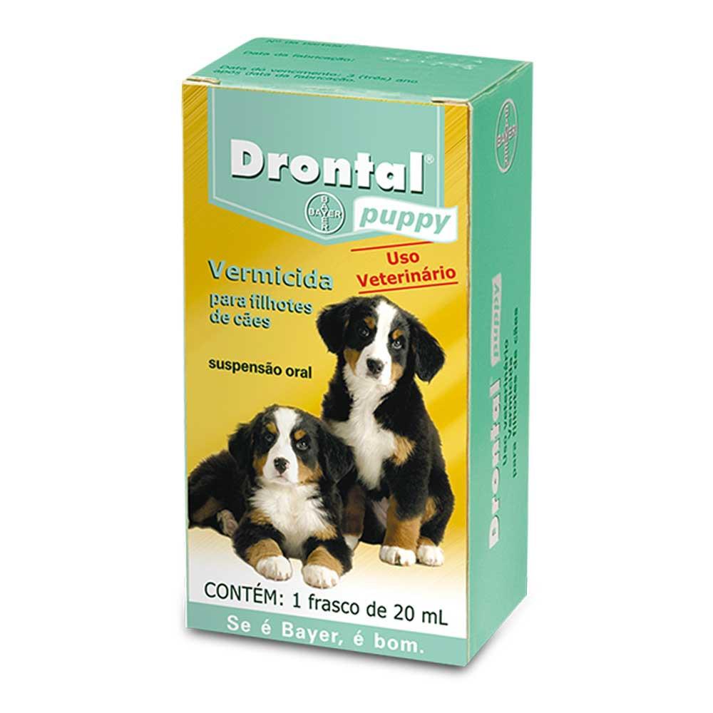 Vermífugo Drontal puppy para cães filhotes