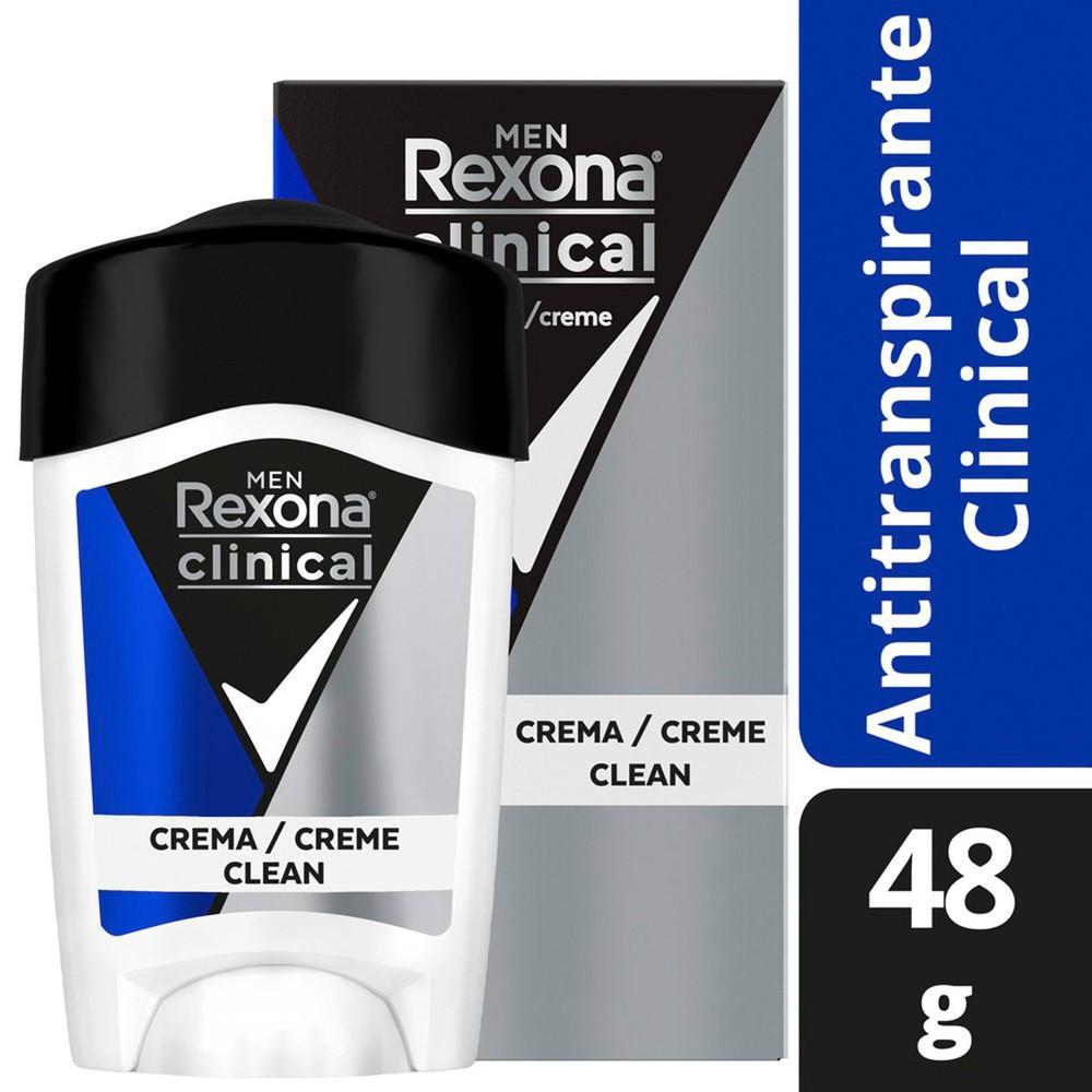 Desodorante em creme Clinical men
