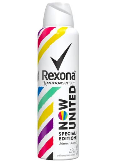 Desodorante aerosol unissex special edition Now United