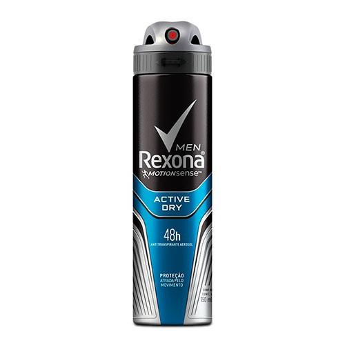 Desodorante aerosol masculino Active dry 150ml
