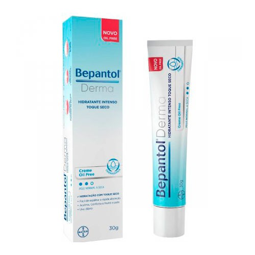 Creme hidratante Bepantol derma toque seco