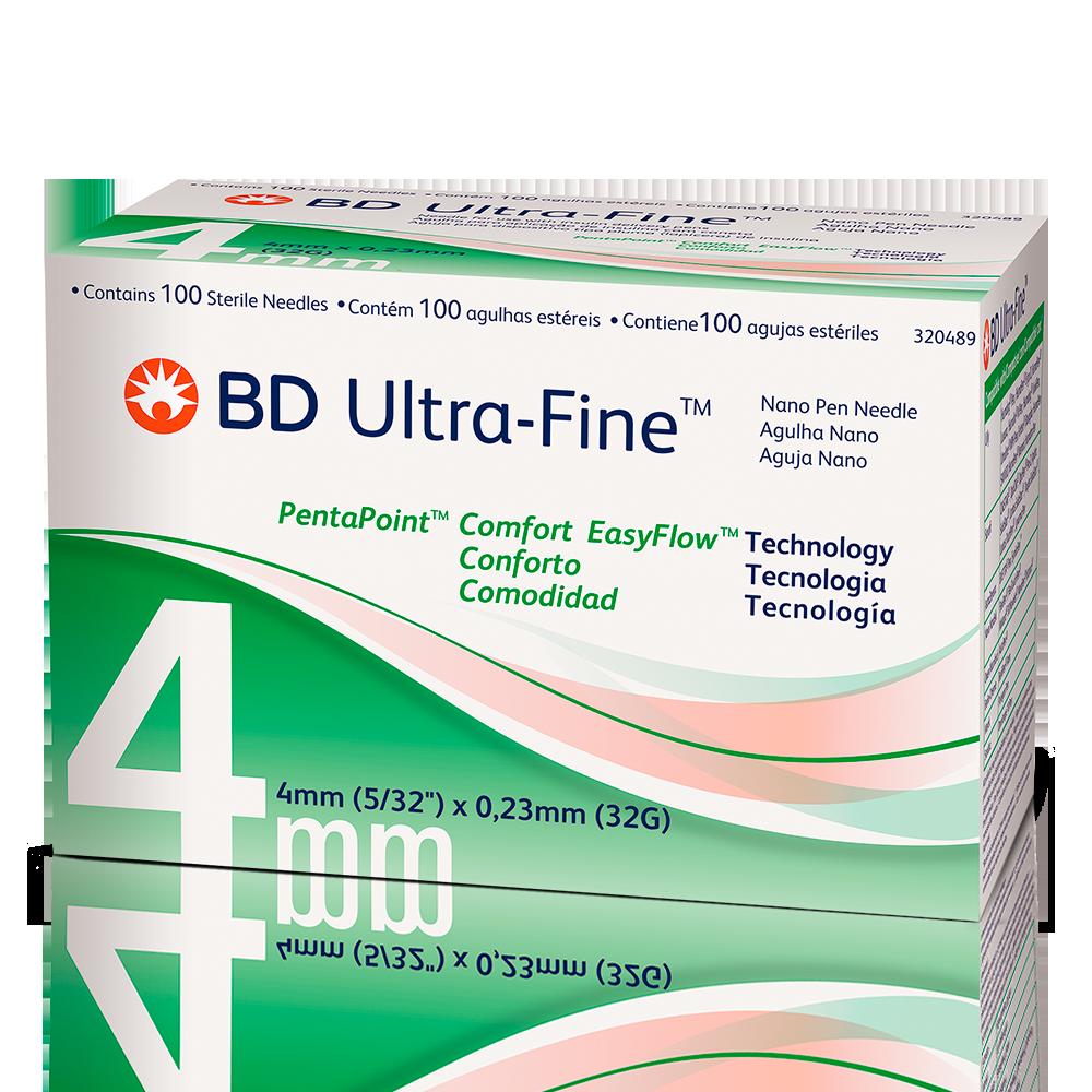 Agulha para insulina BD Ultra-Fine 4mm
