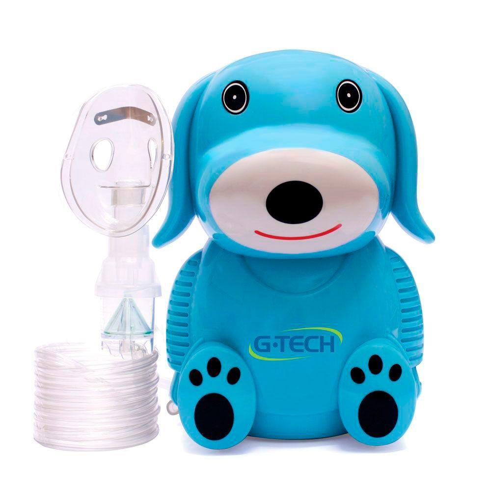 Inalador e Nebulizador G-Tech Dog Azul Bivolt