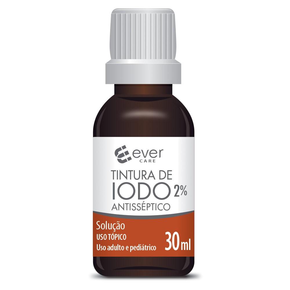 Tintura de Iodo 2% Ever Care 30ml