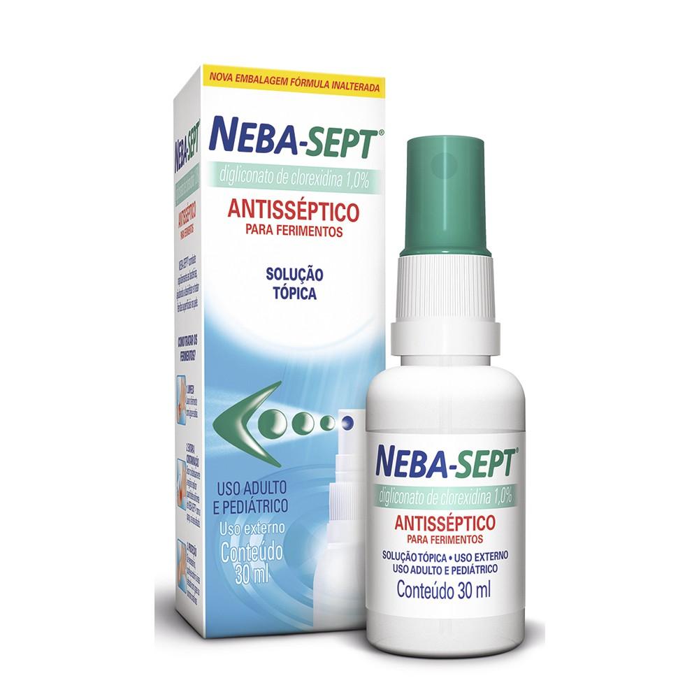 Antisséptico para ferimentos NebaSept spray