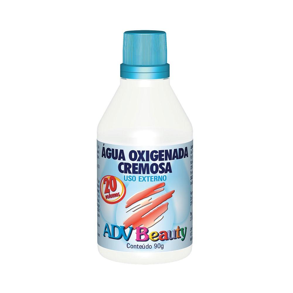 Água oxigenada cremosa beauty volume 20