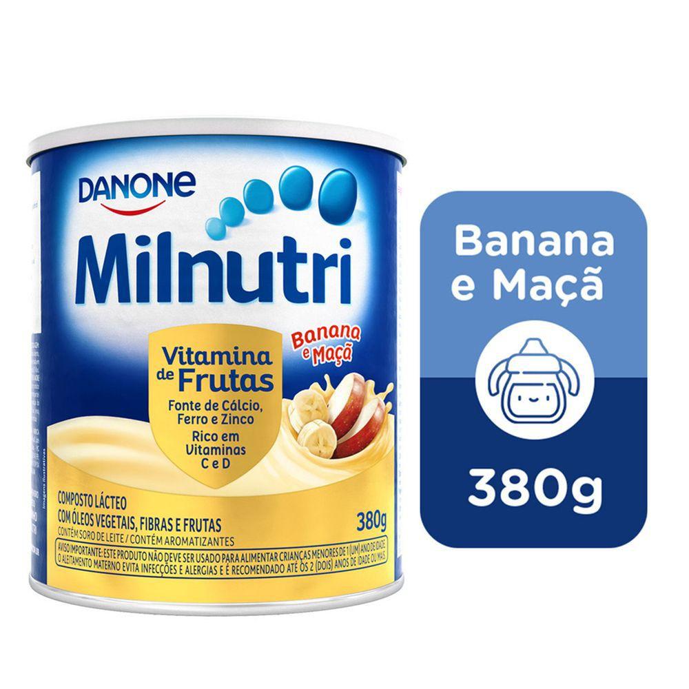 Composto lácteo vitamina de frutas