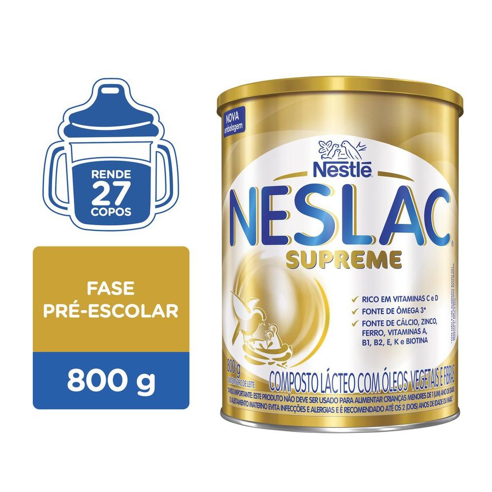 Composto lácteo supreme Neslac