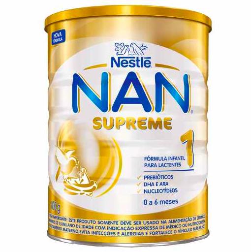 Fórmula infantil supreme 1 Nan