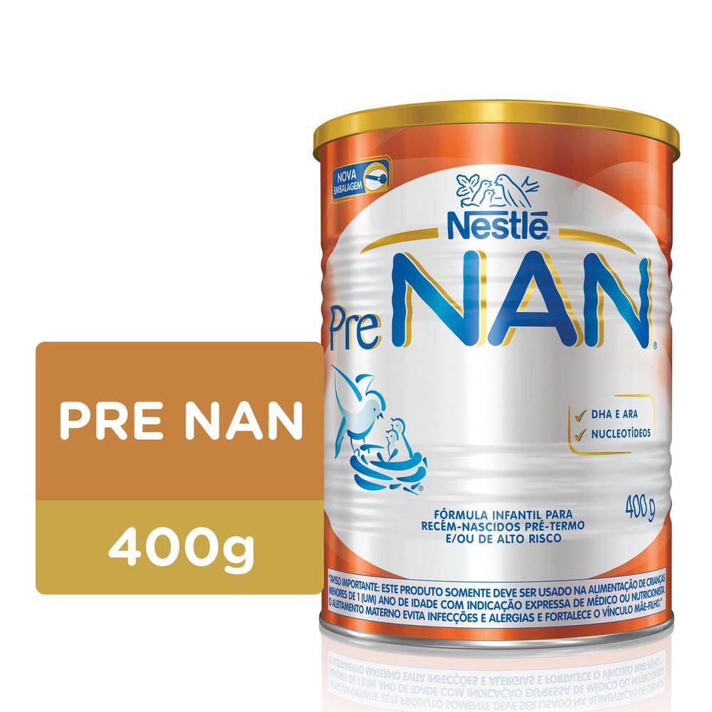 Fórmula Infantil Pré NAN B Lata 400g