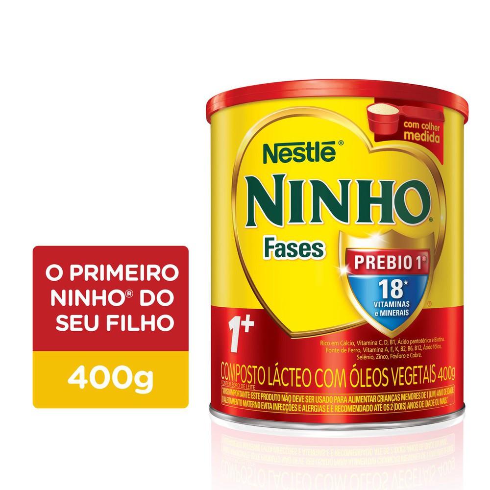 Composto lácteo fases 1+ Ninho